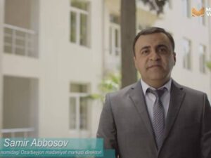 "Özbəkistanın ""Madaniyat va Marifat"" telekanalında ""Oltin koprik Ozarbayjon"" adlı veriliş yayımlanıb"