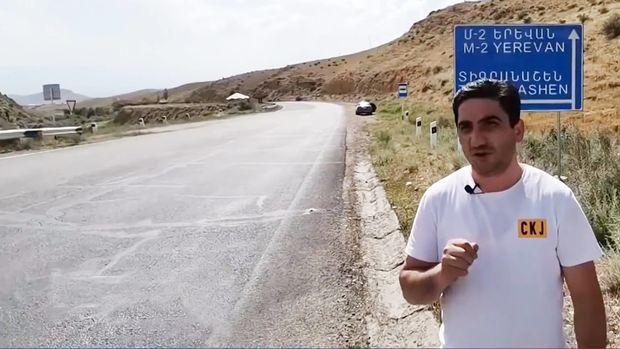 Erməni jurnalist növbəti dəfə həqiqətləri etiraf etdi – VİDEO