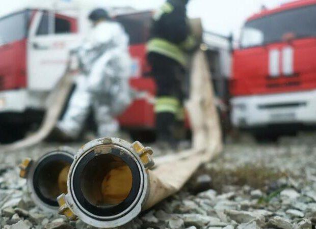 Zaqatalada DƏHŞƏT: Mağaza yandı, satıcı öldü