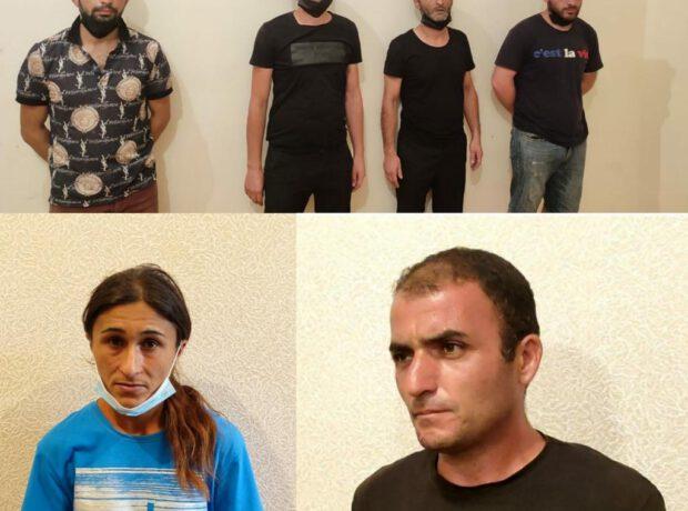 """Lənkəranda """"patı"""" satan qadın və daha 5 nəfər saxlanılıb"""