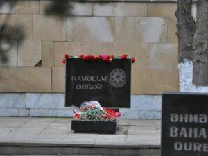 Bakıda 32 naməlum şəhidin məzarı açıldı, nümunələr götürüldü