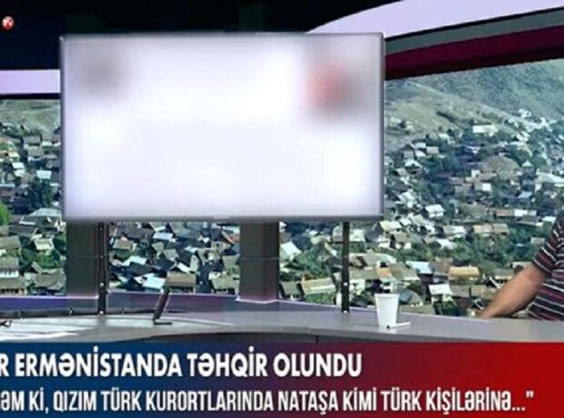 Ermənistanda rusları təhqir etdilər – VİDEO