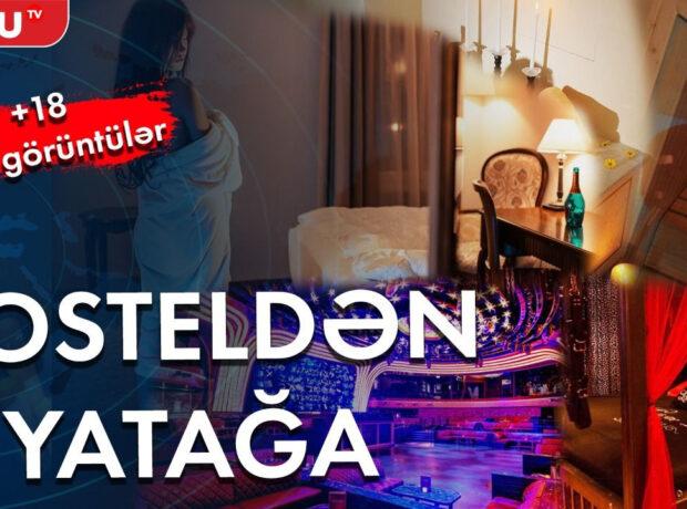Bakıda hostel adı altında fahişəxana – Gizli Çəkiliş – ANBAAN VİDEO