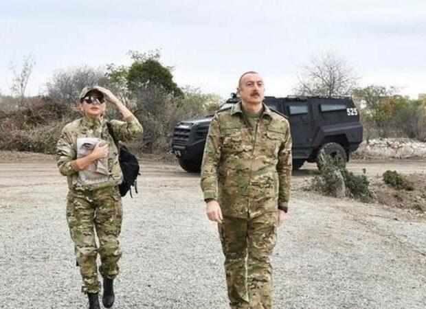 Prezident birinci xanımla Kəlbəcər və Laçına getdi