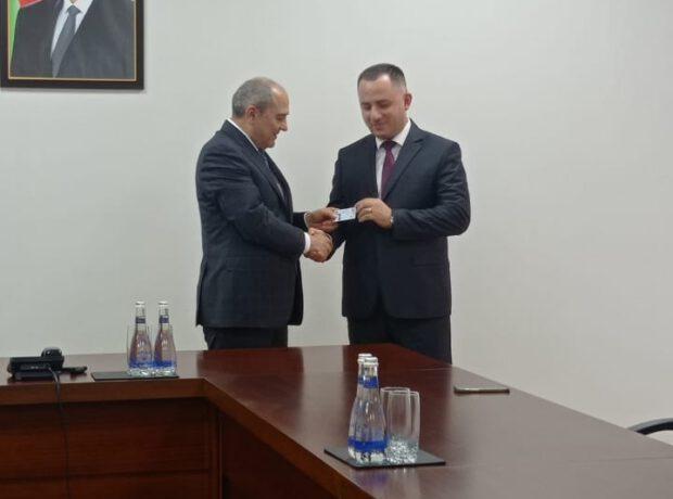 Vüqar Oruc Tahir Budaqovla görüşüb – FOTOLAR