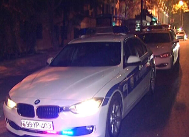 Sabirabadda sürücü DYP əməkdaşlarına xəsarət yetirdi