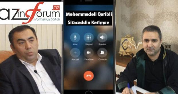 """Vüqar Səfərlinin vəkili: """"Belə çıxır ki, 18 milyonu o tək mənimsəyib?"""" – Eksklüziv səs yazısı"""