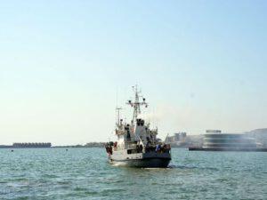 Rusiya hərbi gəmiləri Bakı limanını tərk etdi