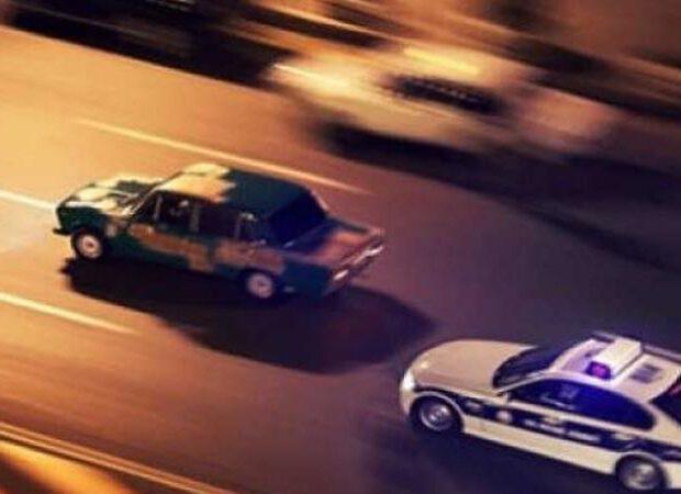 Yol polisinin gözləri qarşısında avtoxuliqanlıq etdi – VİDEO