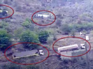 İran indi də bu yolla Ermənistana yük daşıyır – VİDEO