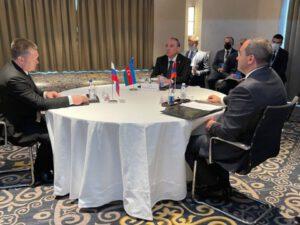 Kamran Əliyev Rusiya və Ermənistanın baş prokurorları ilə görüşdü