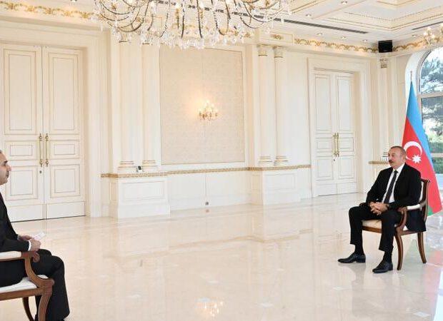 """Prezident """"Anadolu"""" agentliyinə müsahibə verdi – VİDEO"""