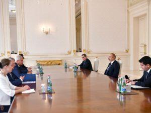 Prezident Slovakiyanın xarici işlər və Avropa nazirini qəbul etdi