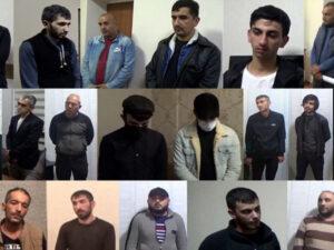 Polis əməliyyat keçirdi: 34 kq narkotik aşkarlandı, 23 nəfər saxlanıldı (VİDEO)