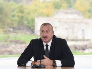"""""""İstədiyimizə nail oluruq"""" – Dövlət başçısı Zəngəzur dəhlizindən danışdı"""