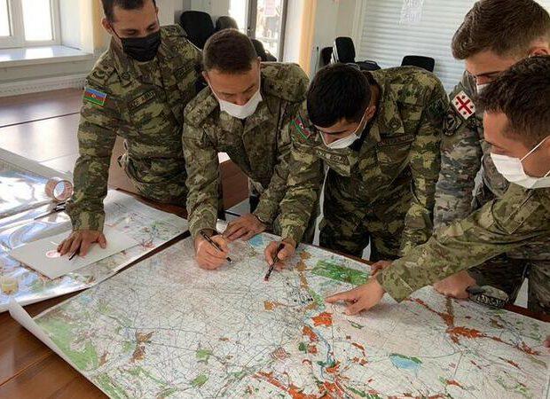 Azərbaycan, Türkiyə və Gürcüstan hərbi təlimi davam edir – FOTO