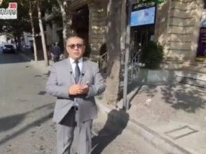 Jurnalist BNA-nın yalanını belə ifşa etdi – VİDEO