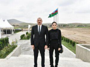 İlham Əliyev və Mehriban Əliyeva Zəngilanda