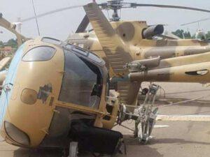 8,8 milyon dollar daşıyan helikopter qəzaya uğradı