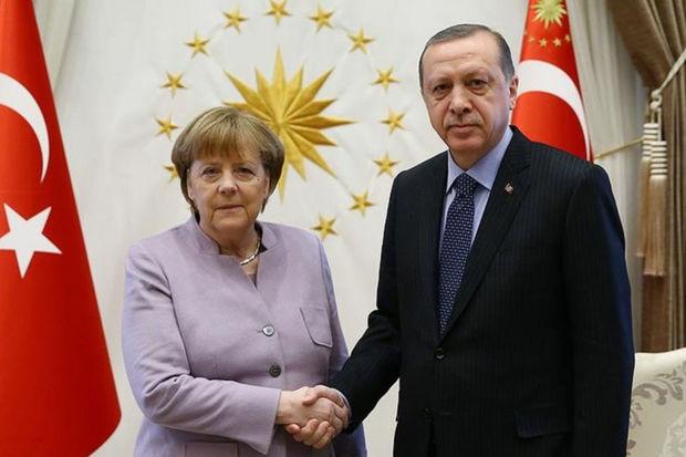 Merkel İstanbulda Ərdoğanla görüşəcək