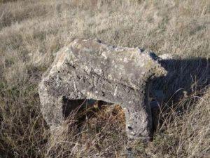 Laçında qəbirüstü at fiqurları tapıldı – FOTO