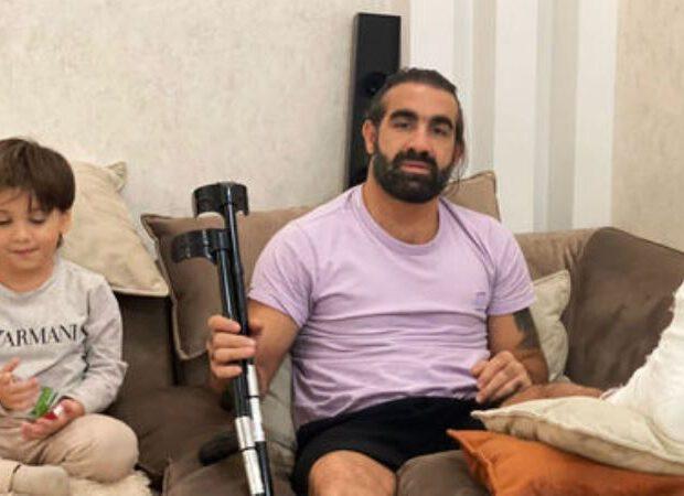 Rafael Ağayevin ayağı sındı: Dünya çempionatında iştirak etməyəcək – FOTO