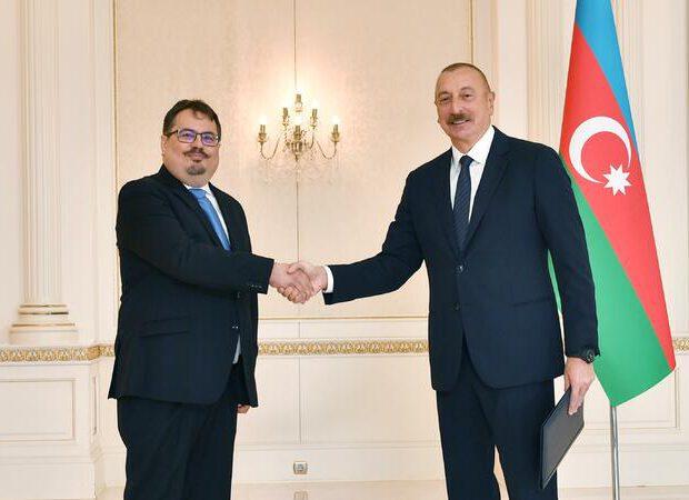 Prezident Petr Mixalkonu qəbul etdi – YENİLƏNDİ